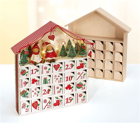 bastelanleitung adventskalender haus buttinette blog