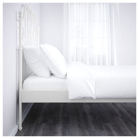Leirvik Bed Frame White Leirvik Bed Frame White Lur 246 Y Standard Ikea