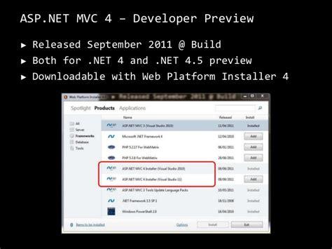 asp net mvc 4 the asp net site what s new in asp net mvc 4