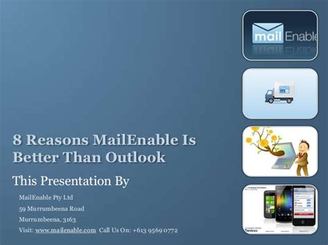 8 Reasons To Date A Than You by 8 Reasons Mailenable Is Better Than Outlook