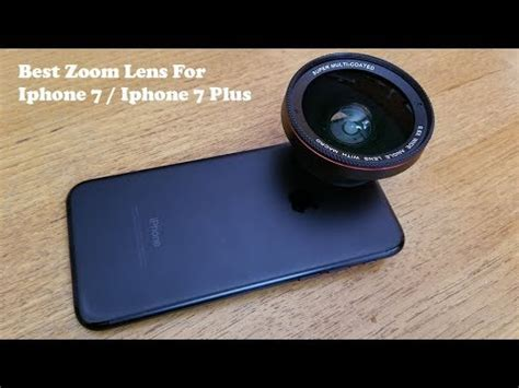best zoom lens for iphone 7 iphone 7 plus fliptroniks