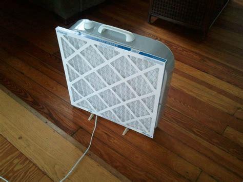 box fan air filter diy air filter box fan central air filter