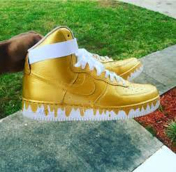 all color air ones custom drippy nike high top af1 air ones all by