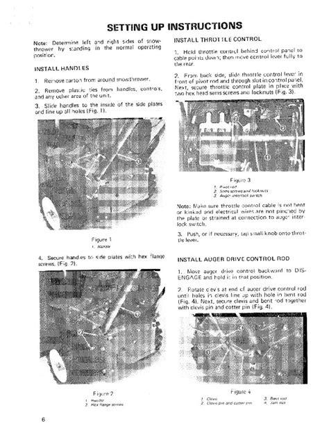 Toro 38040 524 Snowblower Operators Manual 1981 1984
