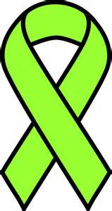 lymphoma cancer color clipart lime lymphoma ribbon
