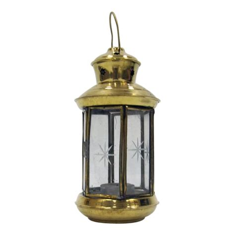 Candle Lantern brass candle lantern nautical decor