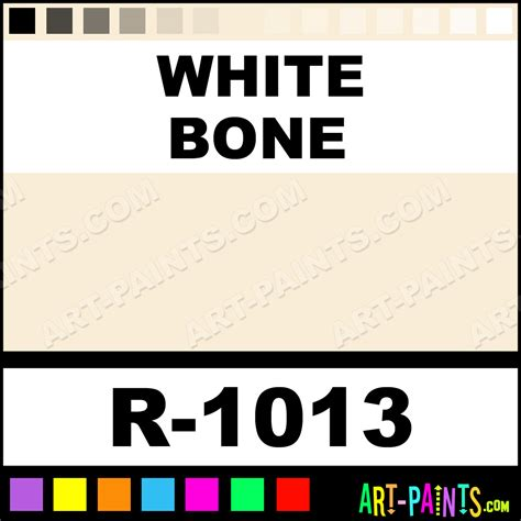 white bone spray paints r 1013 white bone paint white bone color montana