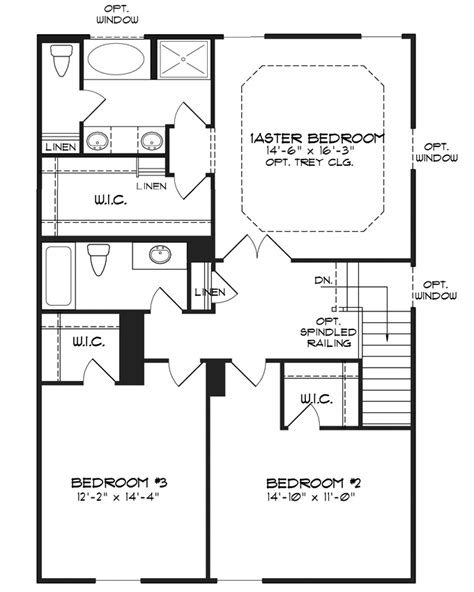 first floor master house plans floorplan
