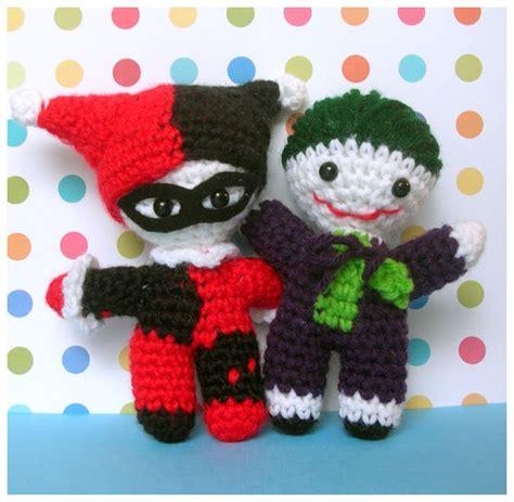 amigurumi joker pattern harley quinn and joker amigurumi crochet amigurumi