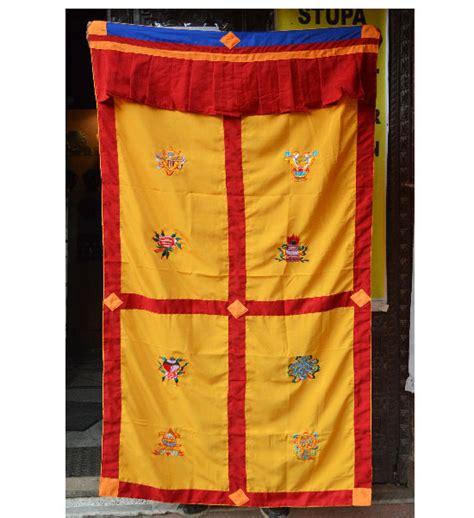 tibetan door curtain malas wall hangings door curtains khatas tibetan