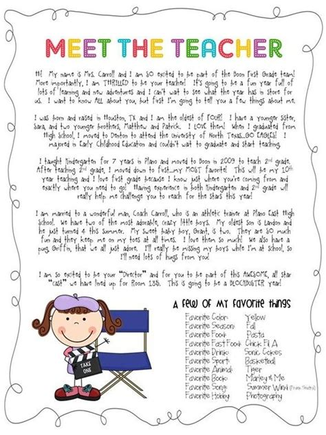 Parent Welcome Letter From Preschool 25 Best Ideas About Kindergarten Welcome Letter On