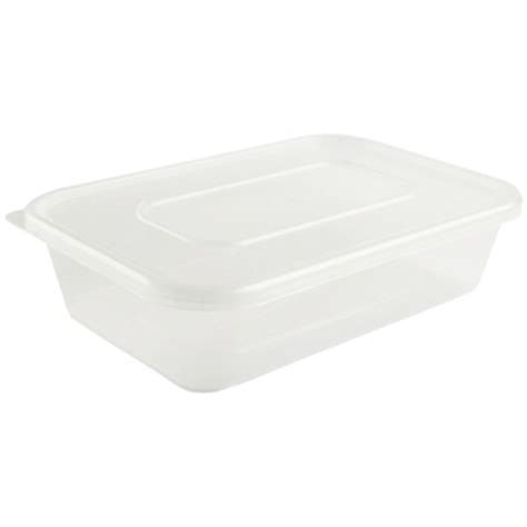 Container Thinwall Microwaveable 500ml plastic microwave container box 250 small 500ml ireland