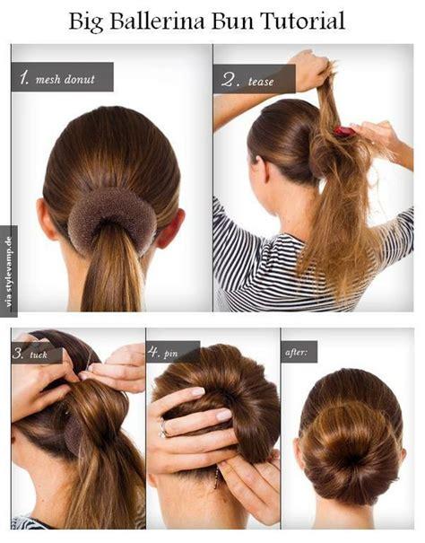 easy dance hair diy 78 ideen zu duttkissen auf pinterest gewagte trendige