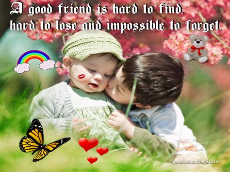 cute wallpapers quotes friendship hard to find cute kids friendship quote wallpaper for