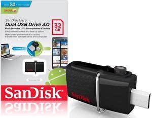 Promo Sandisk Flashdisk Usb 3 Otg 32gb Up To 130 Mb S White Sp526 sandisk ultra dual usb 3 0 flashdrive 16gb 32gb 64gb otg dynaquest pc