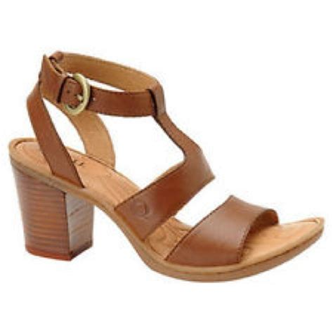 born high heels 40 born shoes born thick strappy high block chunky