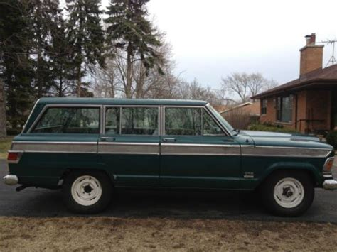 jeep wagoneer trunk purchase used 1972 jeep wagoneer ca body used 5 9l v8 16v