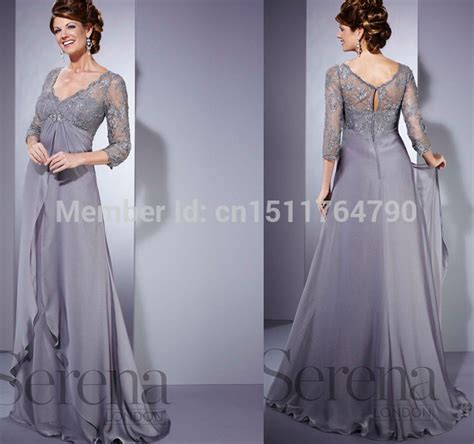 Dress Barn Customer Service Wholesale Silver Plus Size Long Mother Of The Bride Dress