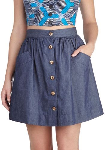 casual denim skirt 7 awesome denim skirts that will become