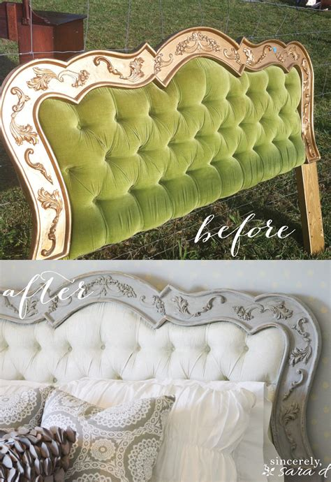 diy chalk paint for upholstery painted headboard