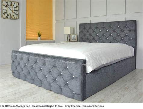 The 25 Best Crushed Velvet Ottoman Bed Ideas On Pinterest Ottoman Storage Bed Uk