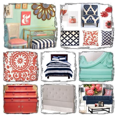 navy blue and coral bedroom my bedroom board navy mint and coral bathrooms