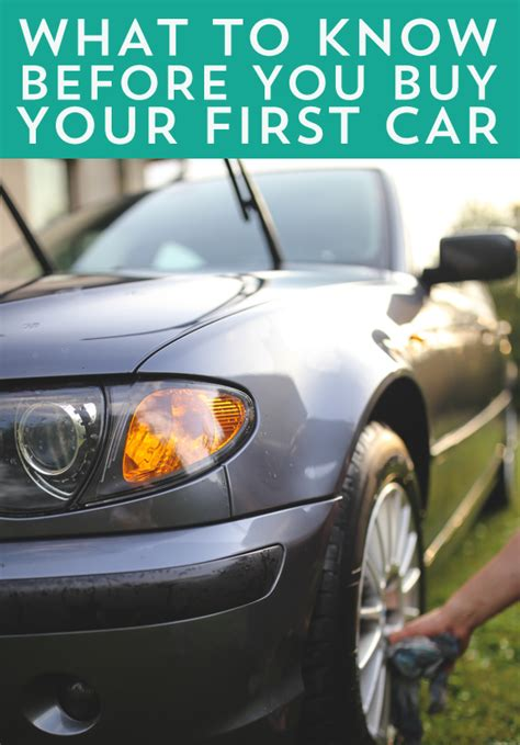 should i buy a house or car first what you need to know before you buy your first car