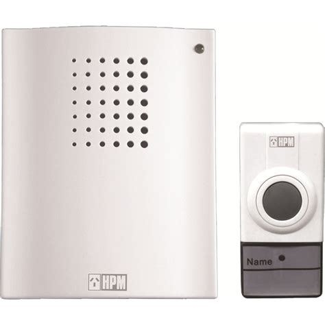 Warehouse Door Bell by Hpm Battery Operated Wireless Door Chime Bunnings Warehouse