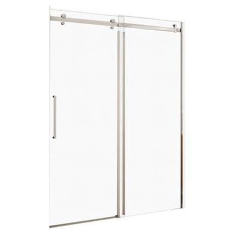 Shower Door Wheels Home Depot by Maax Halo 48 Inch Big Roller Sliding Door 138996 900