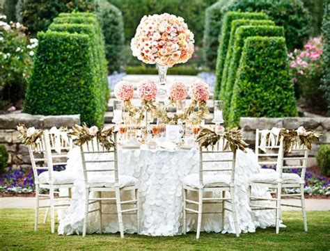Garden Reception Ideas Outside Wedding Reception The Secret Garden Weddingelation
