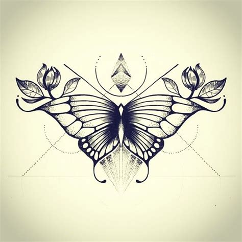 geometric butterfly tattoo pin by tracey green on tattoos and