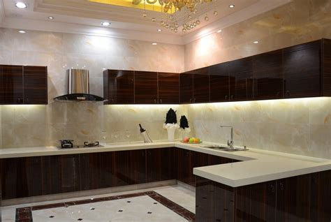 Modern Interior Kitchen Design by Modern Minimalist Villa Kitchen Interior Design