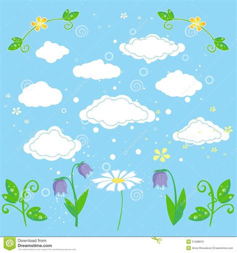 nature element pattern nature design elements royalty free stock images image