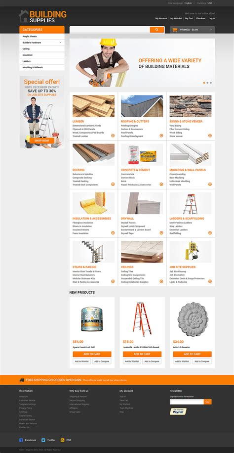 themes bootstrap construction building materials maintenance services responsive