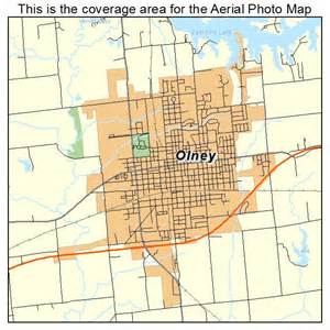 olney map aerial photography map of olney il illinois
