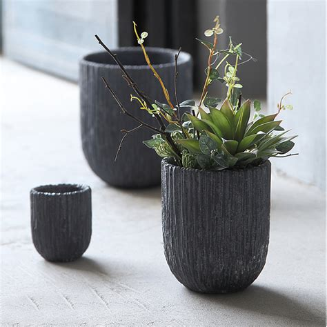 flower pots for sale decorative plant pots indoor balcony small volcanic mud clay table flower bonsai pot decorative