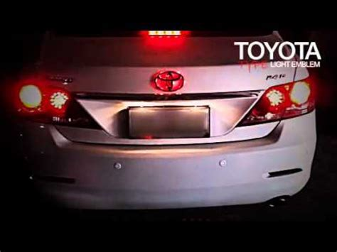 Toyota Camry Logo Replacement Toyota Emblem Light