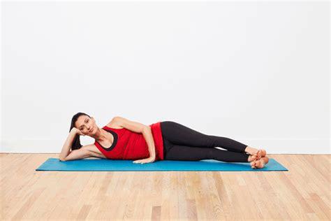 Vitamin Iqku Pilates Side Kick Exercises For Thigh Toning