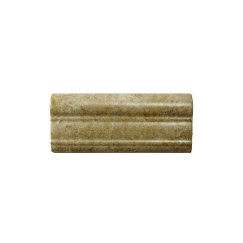 chair rail tile daltile brixton bone 2 in x 6 in ceramic chair rail wall
