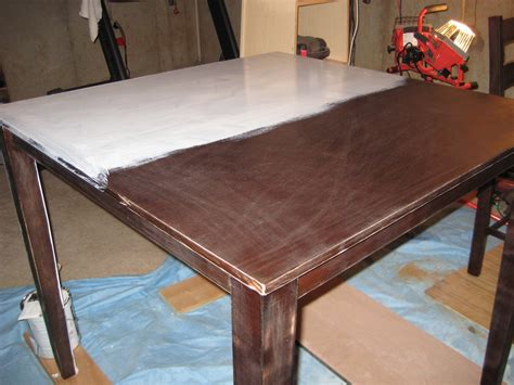 refinishing dining room table best way to refinish kitchen table all about house design