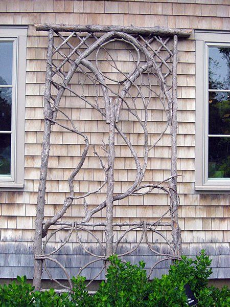 garden projects  sticks twigs lovely greens