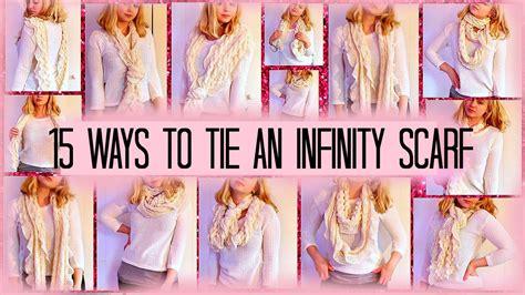 15 ways to wear an infinity scarf