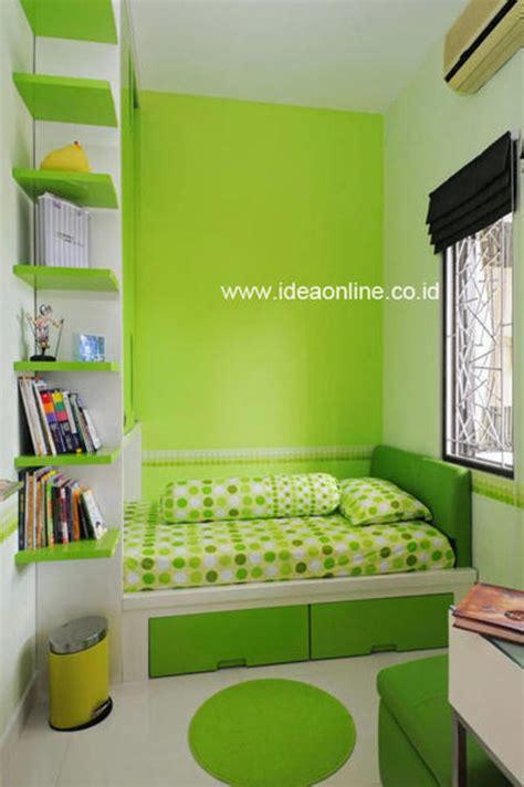 membuat cat warna anak desain interior warna hijau chieraeray