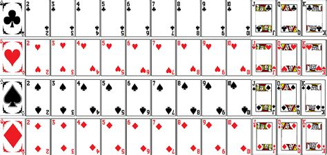 Blank Card Deck Template by Not Learning Spider Solitaire Flashcards Hanguk Babble