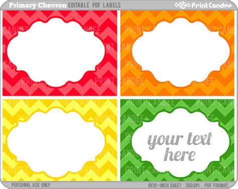rectangle editable   printable labels cards
