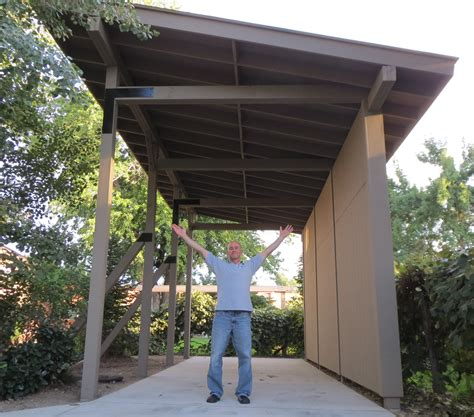 We FINALLY Finished the RV Carport!