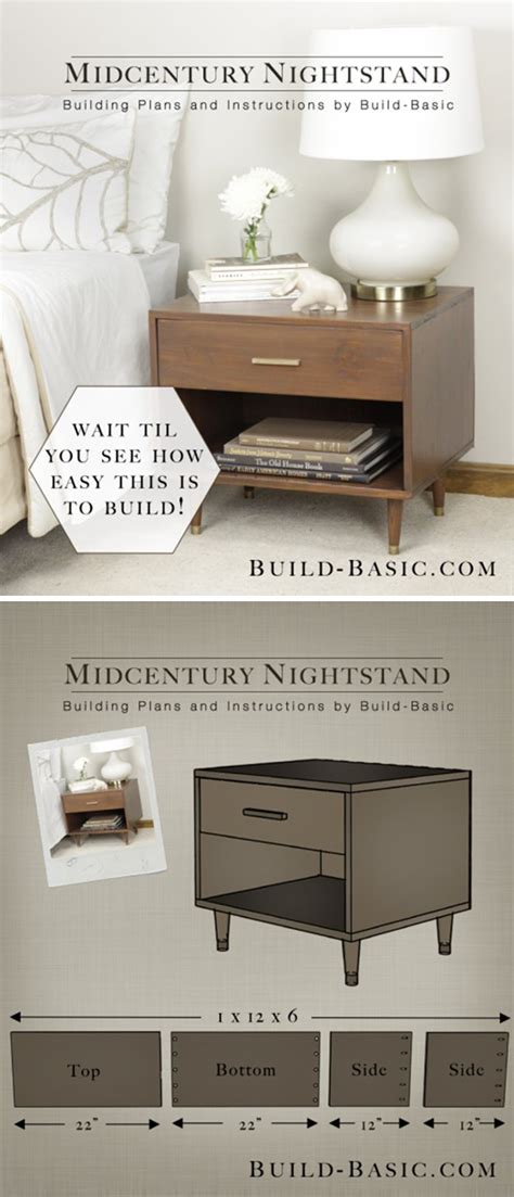 cheap nightstand ideas 17 creative and cheap nightstands diy wood projects