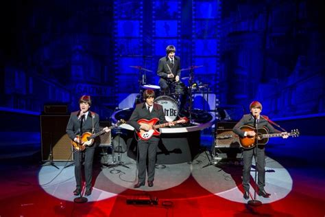 musical let it l post let it be review beatlemania hits the end