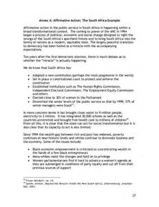 affirmative policy template article affirmative as a means of social inclusion