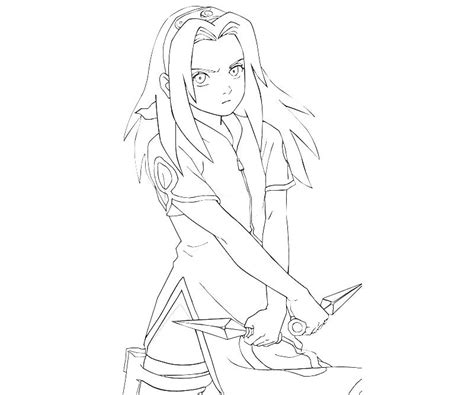 coloring pages of naruto shippuden characters naruto sakura character how coloring